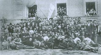 Free Cossacks - 1st Congress of Free Cossacks (Chyhyryn, October 1917)