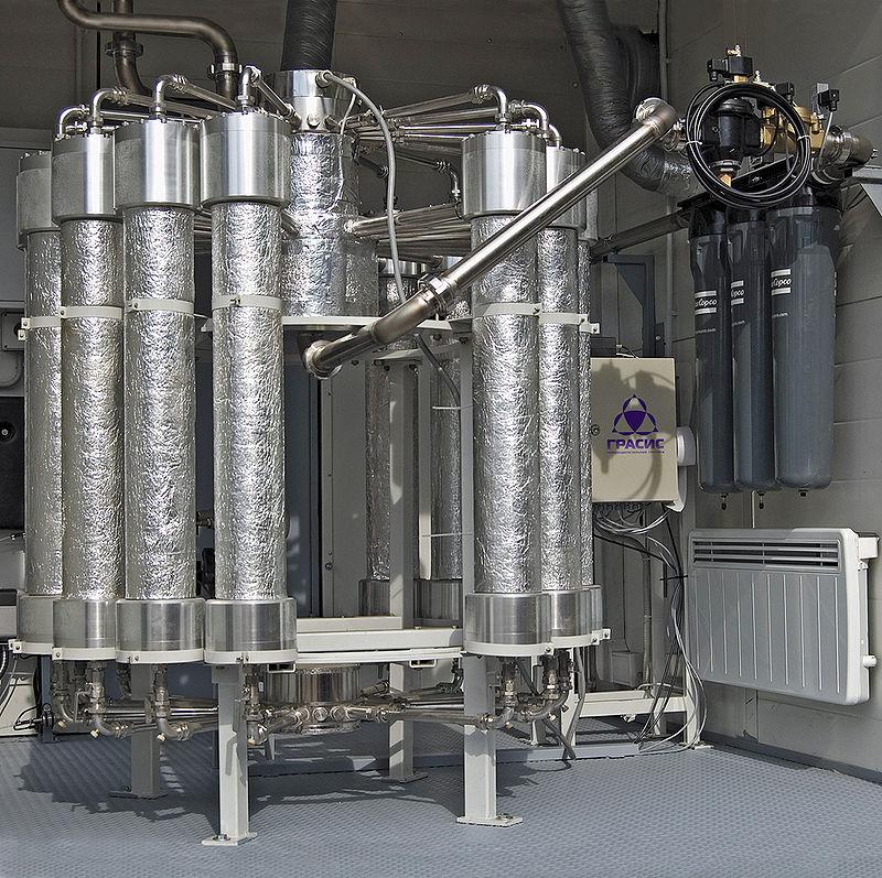 https://commons.wikimedia.org/wiki/File:Membrane_nitrogen_generator.jpg#/media/File:Membrane_nitrogen_generator.jpg