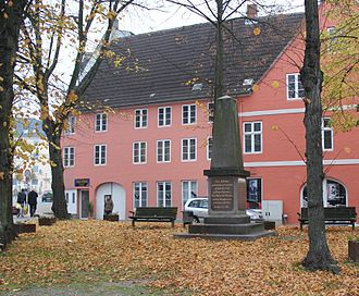 Battle of Bov - Memorial Site in Flensburg