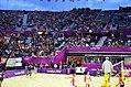 Men's beach volleyball match at the 2012 Summer Olympics.jpg