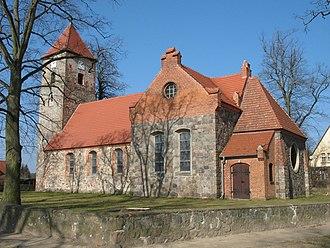 Stechlin - Image: Menz church