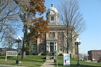 Mercer, Pennsylvania - Mercer County Courthouse (1909)