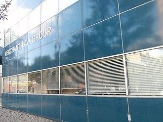 Anthony Merchant - Merchant Law Group LLP offices, Regina, Saskatchewan location.