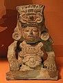 Messico, zapotec, urna ceramica, dallo stato di oxaca, 200-800 dc ca. 06.jpg