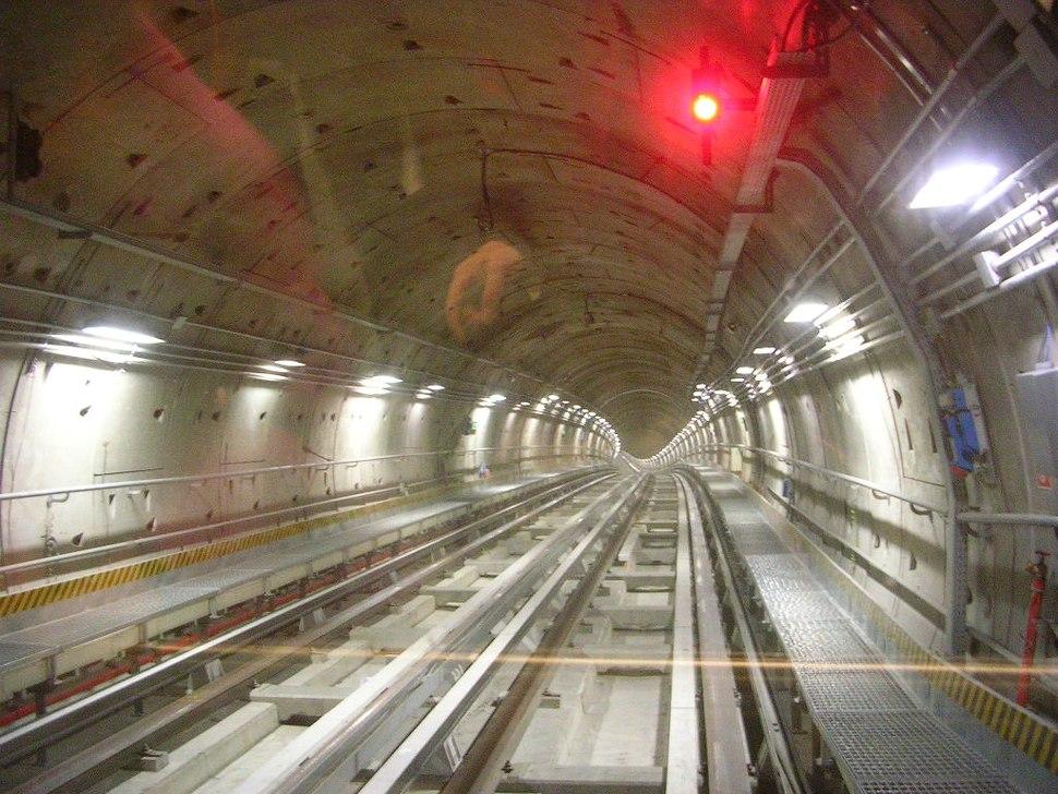 Metro Turin Italy Tunnel