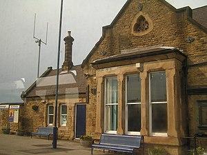 Mexborough railway station - Image: Mexborough railway station 1