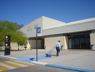 Mexicali International Airport - Image: Mexicali Airport Terminal