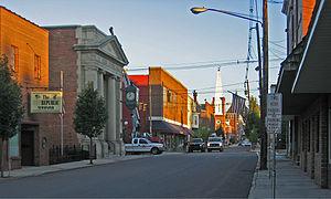 Meyersdale, Pennsylvania - Meyersdale in 2007