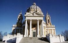 La basílica de Superga.