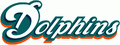 Miami Dolphins third 1997 wordmark.png