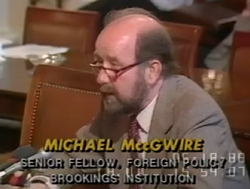 Michael MccGwire, House Armed Services Committee, Burden Sharing.png