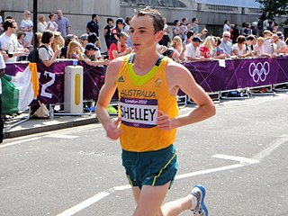 Michael Shelley (athlete) Australian marathon runner