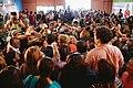 Michelle Bachelet participa en un encuentro con dirigentes sociales y vecinales de Puente Alto. (8657370197).jpg