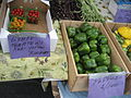 Mid-City Farmers Market - 5 June 2008 - Grape Tomatoes Bell Peppers.jpg