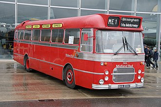 Midland Red - Preserved BMMO CM6