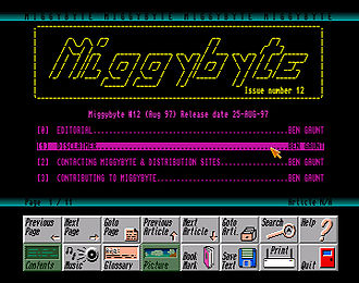Miggybyte - Screen shot of Miggybyte