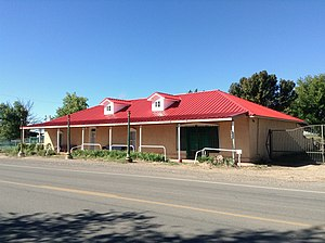 Adelino, New Mexico - The historic Miguel E. Baca House in Adelino