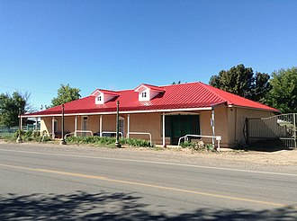 National Register of Historic Places listings in Valencia County, New Mexico - Image: Miguel E. Baca Hacienda