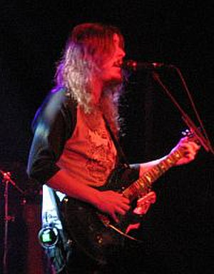 Opeth - Åkerfeldt (pictured) and Isberg decided they would carry on with the band after most of the members had gone separate ways.