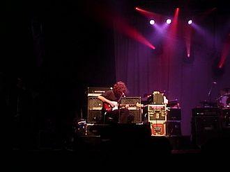 Michael Houser - Michael Houser onstage in Philadelphia, 2001