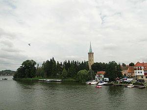 Mikołajki seen from bridge.jpg