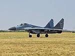Mikoyan-Gurevich MiG-29B (9-12B) taxiing.jpg