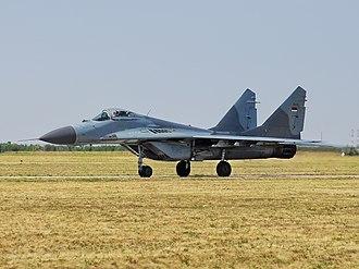 Serbian Air Force and Air Defence - A Serbian Air Force MiG-29B