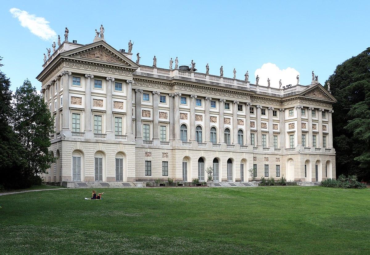 Villa reale di milano wikipedia - Immagini di giardini di villette ...