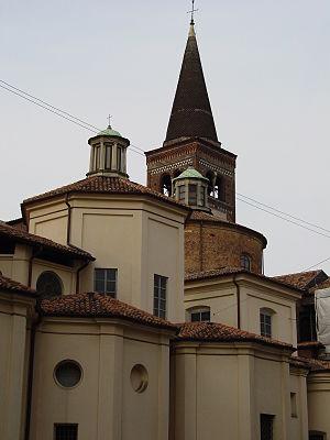 San Marco, Milan - Image: Milano San Marco Campanile