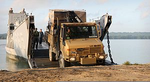 Military Unimog vehicle during an exercise.jpg