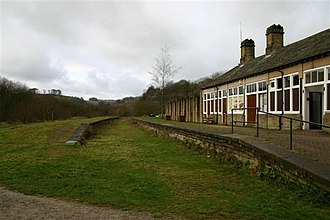 Millers Dale railway station - Image: Millers Dale Station geograph.org.uk 275757