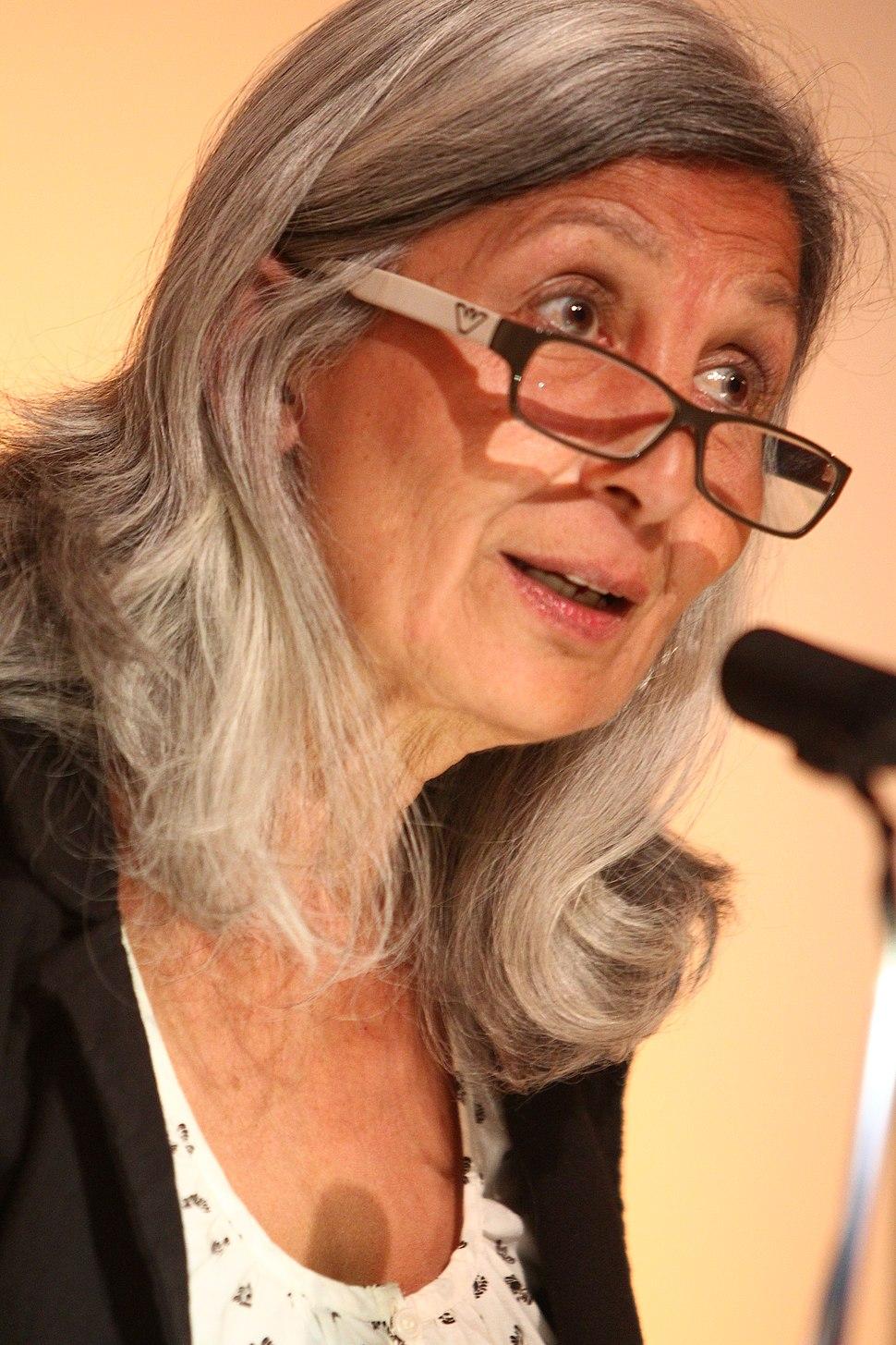 Mimi Khalvati at the British Library 12 April 2011