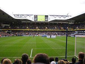 White Hart Lane - Set fra North Stand