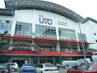 Bandar Baru Sentul - Mini UTC Sentul at Bandar Baru Sentul where it is located