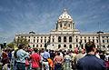 Minnesota State Capitol GLBT justFair Lobby Day 2006 15806015951.jpg