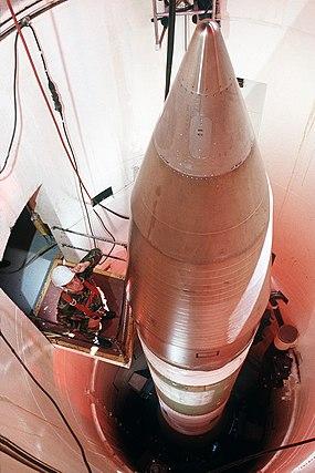 Minuteman III in silo 1989.jpg
