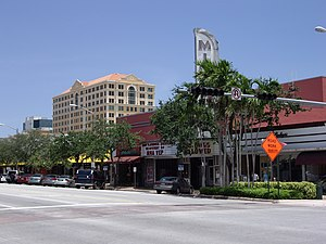 Miracle Mile (Coral Gables) - Miracle Theater on Miracle Mile