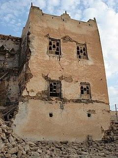 Mirbat Town in Dhofar Governorate, Oman