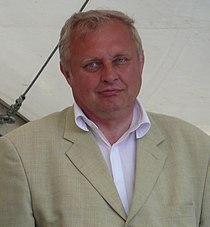 Miroslav Ransdorf (2), EP election campaign, Brno.jpg