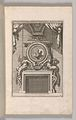 Miscellany of 17th-century Ornament Print Series- Examples of Antique Chimneypieces, Cabinets, Gueridons, Tables and Mirrors, in addition to Italian Church Facades, by illustrious architects, or a sequel to S. Bosboom MET DP-12235-066.jpg