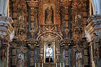 Mission San Xavier del Bac - Mission San Xavier Chapel, Main Altar