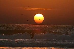 Mock mirage of the setting sun.jpg