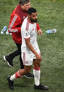 Mohamed Ahmed (footballer) Emirati footballer