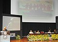 """Mohd. Hamid Ansari delivering the inaugural address at the """"Tri-Services Seminar to commemorate the Golden Jubilee Commemoration of the India-Pakistan War of 1965"""", in New Delhi. The Union Minister for Defence.jpg"""