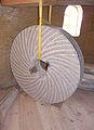 Molen De Korenbloem, Kortgene molensteen 2 soorten zachte uitslag.jpg