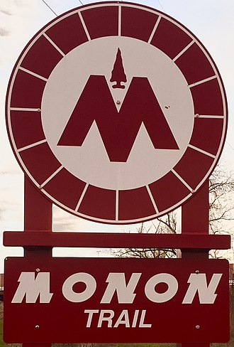 Monon Trail - The Monon Trail utilizes the same logo and design cues throughout the entire trail.