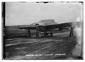 Nieuport IV - Claude Grahame-White's Nieuport IV circa 1912. This aircraft later served with the Royal Flying Corps.