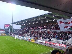 Stade Charles Tondreau - Image: Mons Anderlecht 08