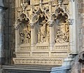 Mons St Waltrude Church reredos 02.JPG
