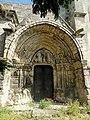 Montataire (60), collégiale Notre-Dame, rue de l'Église, portail sud.jpg